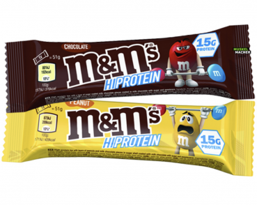 M&M HI-Protein Riegel